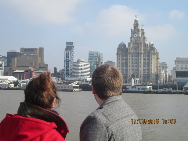 View of Liverpool from the Ferry